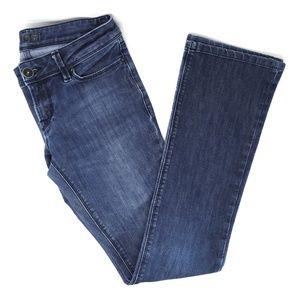 DL1961 Cindy dark wash boot cut jeans, size 27